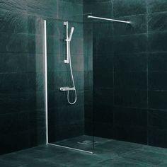 Dusjvegg Westerbergs Clear 800/900 Glass - Dusjdører & Vegg - Bygghjemme.no