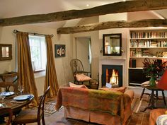 Oozing charm, this stunning and beautiful holiday cottage will provide the warmest welcome with a cosy open fire. Interior Decorating, Decorating Ideas, Interior Design, Cosy Lounge, Open Fires, Cottage Interiors, Blacksmithing, Country Living, Cottages