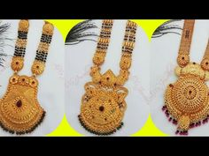 New Gold Ganthan Designs for Bride ll Latest Gold ganthan Design ll Gold Mangalsutra Design Gold Mangalsutra Designs, Gold Jewellery Design, Gold Jewelry, Beaded Jewelry, Leg Mehndi, Small Necklace, Indian Wedding Jewelry, Lehnga Blouse, Bed Workout