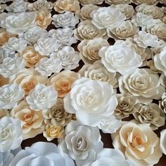 PDF Paper Flower Template Digital Version With Base