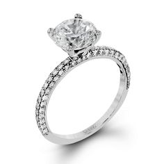 MR1577 Engagement Ring   Simon G. Jewelry