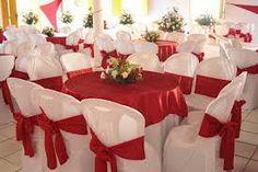 decoração de casamento branco e vermelho - Pesquisa Google
