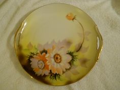 Vintage Noritake Open Handle Rose Floral Serving Plate by LikeNewShop on Etsy Noritake, Serving Plates, Decorative Plates, Porcelain, Handle, China, Unique Jewelry, Handmade Gifts, Rose