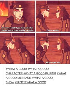 Avatar and Korra --what a good Avatar Aang, Avatar Airbender, Suki Avatar, Team Avatar, Suki And Sokka, Avatar The Last Airbender Funny, Zuko, Fandoms, Dislike