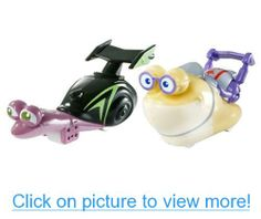 DreamWorks Turbo: White Shadow vs Smoove Move 2 Pack Vehicle Set
