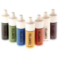 TEMPTU PRO 7 Color Aqua Airbrush Makeup Adjuster Starter Set in 1/4 Ounce Bottles $35.00