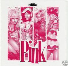 Nicki Manaj Pink - Collector's Mixtape Mix CD