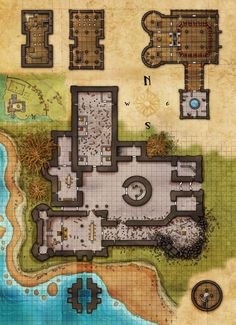 Fantasy Maps by Robert Lazzaretti : Photo