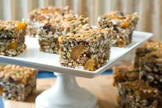 "#GlutenFree, #NutFree, #Vegan Cereal Squares from @simplyglutenfre: on my ""Must Make"" list!"