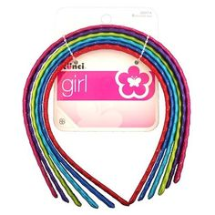 Scunci Headbands, Assorted Colors, 6 ct. by L & N. Save 9 Off!. $3.99. Made in China.