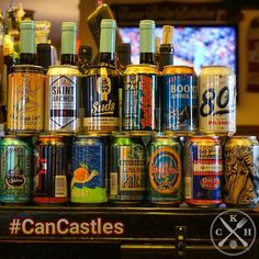 @kuprossacto: Here's your starting lineup of cans. $2.50 all night! #CanCastles #SBW2016 #Sacramento