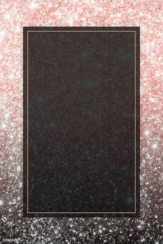 Pink gold rectangle frame on glittery background vector Pink Glitter Background, Black Background Wallpaper, Rose Gold Wallpaper, Framed Wallpaper, Black Wallpaper Iphone, Glitter Wallpaper, Party Background, Rose Gold Backgrounds, Wallpaper Backgrounds