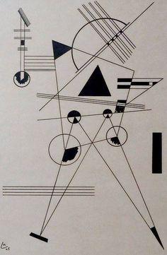 Wassily Kandinsky – Lithograph no. 1, 1925