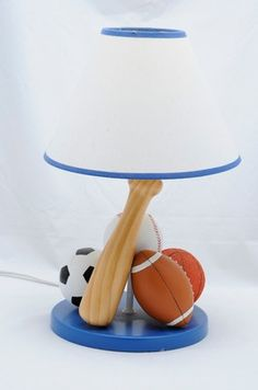 Boys Nursery Sports Lamps Great For Your Boy S Princess Beds