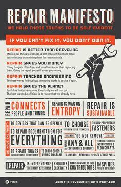 Ifixit Self-Repair Manifesto