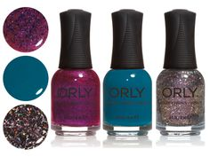 Orly Fall 2013 Surreal Collection - Surreal colors? That's the promise of the newest Orly nail polish collection for fall 2013. Have a look!