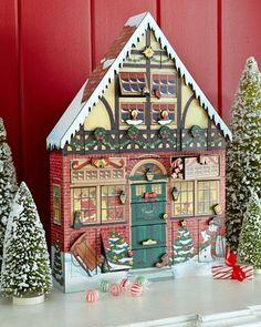 Christmas+House+Advent+Calendar+at+Neiman+Marcus.