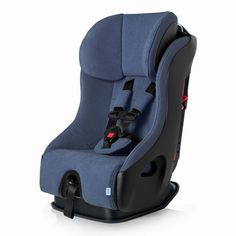 The most detailed review of the Clek Fllo convertible car seat, with height & weight limits, installation, 3 across tips, and Foonf and Rainier comparisons.