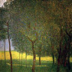 Gustav Klimt   OBSTBAUME AM ATTERSEE