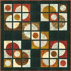 I love this quilt - great colors.