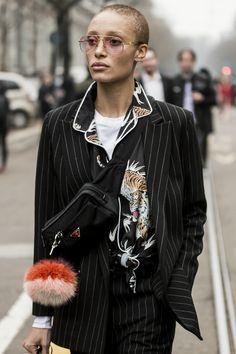 Milan Women's Fashion Week FW17 - Part 1 - Reportage by Julien Boudet