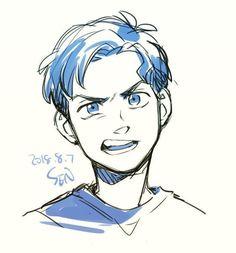 Art Drawings Sketches, Cartoon Drawings, Cool Drawings, Cartoon Guy, Disney Drawings, Wie Zeichnet Man Manga, Cartoon Kunst, Poses References, Drawing Expressions