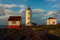 Phare de l'Île Verte en fin de journée | Flickr - Photo Sharing!
