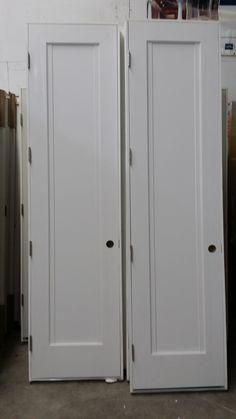 Grand high Custom MDF 1 panel doors with side detail for a Manhattan loft! Panel Doors, Interior Doors, Manhattan, Lockers, Locker Storage, Loft, Detail, Furniture, Home Decor
