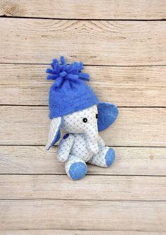 elefante peluche, trapo del elefante, elefante de juguete, muñeca de elefante