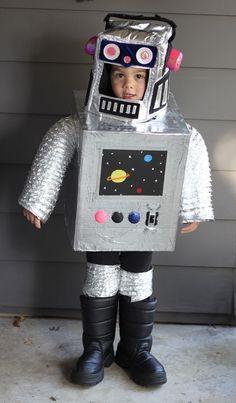 DIY Space Robot Costume
