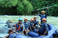 Adventure with CARE #Caldera_Indonesia #Rafting Citarik - Sukabumi, West Java Indonesia