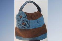 Irie Threads (Burlap Bag - Blue & Brown)