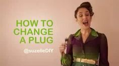How to change a plug Plugs, Change, Diy, Corks, Bricolage, Do It Yourself, Homemade, Diys, Crafting