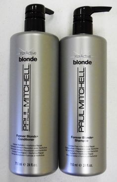 Paul Mitchell Forever Blonde Shampoo And Conditioner Duo 24 oz- If i WAS to ever go blonde again.... I'll need this.