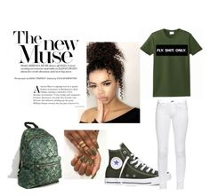 """""""Fly"""" by missbrittanyrenay ❤ liked on Polyvore featuring Converse, rag & bone and Pieces"""
