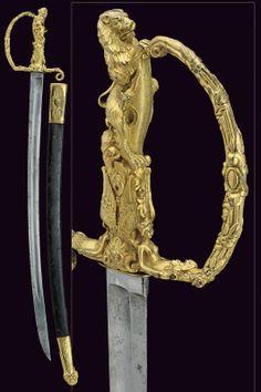 A presentation sword - France- 19th century