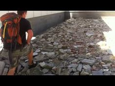 Vancouver art 2013 - What looks like a giant pile of rubble outside the Shangri-La Hotel in downtown Vancouver is actually an art installation by Chinese art collective MadeIn Company titled Calm. All is not as it seems. ...