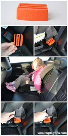 Cool, simple product for preventing your kid from accidentally unbuckling their seat belt from being buckled in the car. Cause a seat isn't any good if it gets unbuckled!