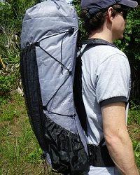 ZPacks.com Ultralight Backpacking Gear - Arc Blast Ultralight Backpack. White. 52L and 16.5oz for $279