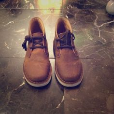 ORIGINAL CLARKS Original brown Clarks for kids size 12 only worn once ❗️EXCELLENT CONDITION ✨ Clarks Shoes Sneakers