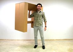 3   This Cheap, Strong Cardboard Standing Desk Will Let You Ditch Your Deadly Office Sitting   Co.Exist   ideas + impact