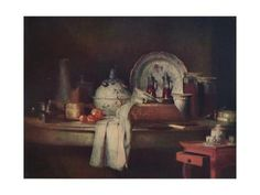 size: Giclee Print: 'Still-Life', century, by Jean-Simeon Chardin : Stock Pictures, Stock Photos, Rococo Style, Royalty Free Photos, Fashion Photo, Find Art, 18th Century, Framed Artwork, Baroque