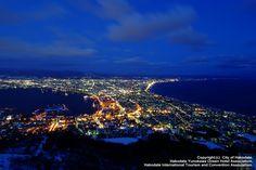 Hakodate, Hokkaido  北海道 函館山の夜景
