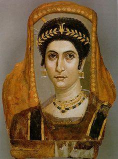 Idealizacion retrato. Grecia. Los retratos de El Fayum