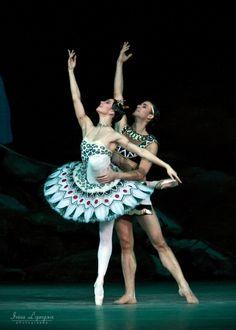 Ruslan Skvortsov and Maria Alexandrova in Bolshoi's La Fille Du Pharaon Irina Lepnyova photography