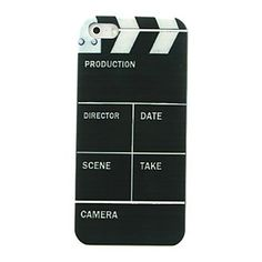 Film Bar Pattern Hard Case for iPhone5/5S  – USD $ 1.99