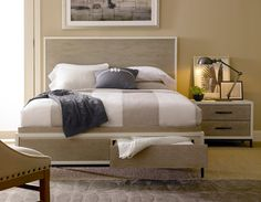 Shop For Universal Furniture Spencer Queen Storage Bed, And Other Bedroom  Beds At Kittleu0027s Furniture In Indiana And Ohio.