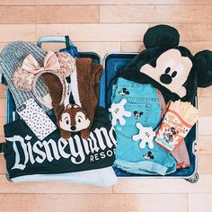 Packing for Disney!