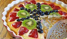 Cream Cheese Fruit Tart with Almond Crust Recipe [GF]: A Series on Hospitality