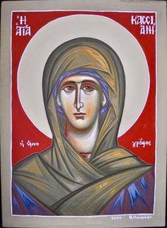 Kassiani by Theodora Kourassi Saints, Icons, Female, Movies, Movie Posters, Films, Symbols, Film Poster, Cinema